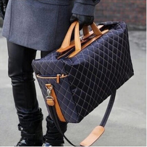 Mens Quilted Duffle Bag