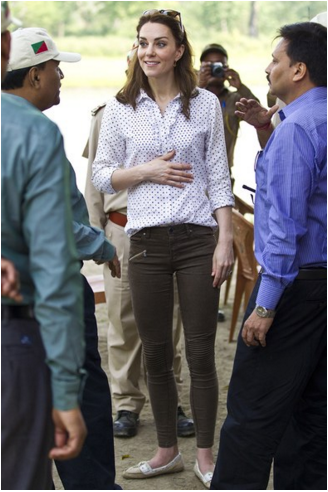 Kate Middleton in India | Kaziranga National Park