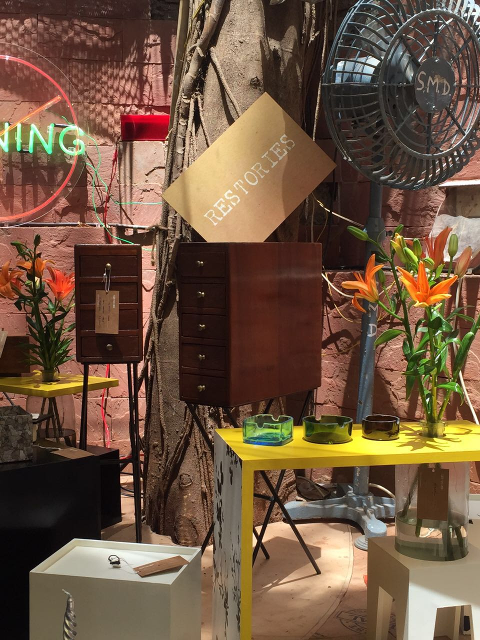 The Vintage Garden | Bandra | Exhibition | 2016 | Ratna Gupta | Restories | Upcycling the ordinary into the extraordinary | Recycle | Product Design | Creative | Mumbai | People