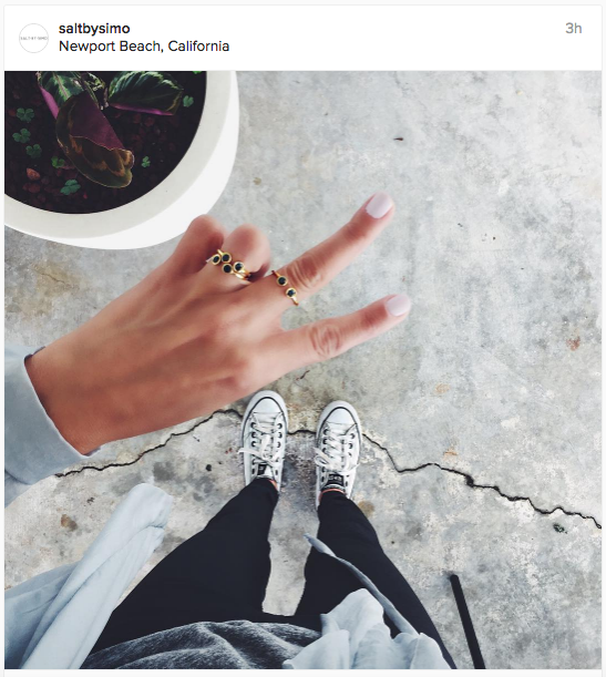 Love the top view angle in this Instagram update | Chai High is an Indian Fashion Blog started by Shivani Krishan