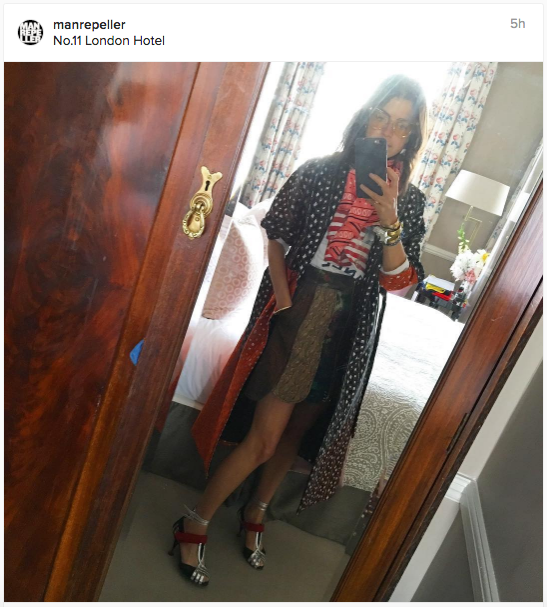 Man Repeller's awesome look for Instagram | Chai High is an Indian Fashion Blog started by Shivani Krishan