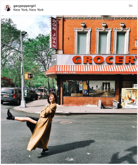 Love the fun-loving pose in this Instagram shot | Chai High is an Indian Fashion Blog started by Shivani Krishan