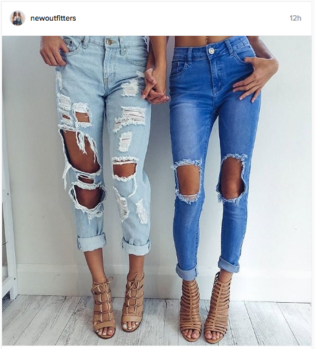 Super torn denims look so much cooler on Instagram | Chai High is an Indian Fashion Blog started by Shivani Krishan