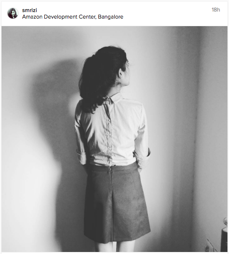 A shirt worn backwards. Now doesn't that look awesome. | Chai High is an Indian Fashion Blog started by Shivani Krishan.