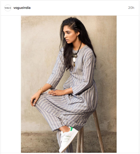 Vogue India does a kurta makeover in this cool Instagram update | Chai High is an Indian Fashion Blog started by Shivani Krishan
