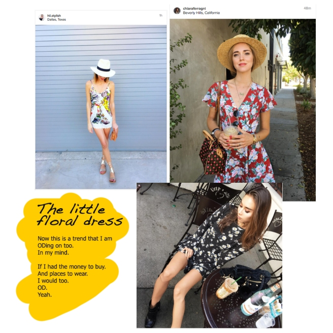 Fashion bloggers across the world are in love with the floral dress trend | Chai High is an Indian Fashion Blog started by Shivani Krishan