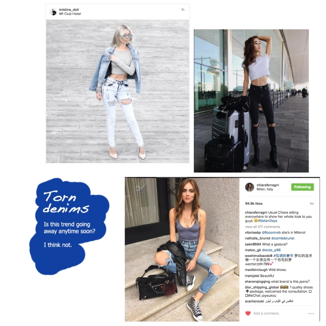 Fashion bloggers across the world are in love with the torn denim trend | Chai High is an Indian Fashion Blog started by Shivani Krishan
