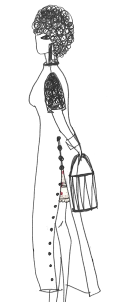 How to wear your skirt in 5 ways | Wear it under a slit dress