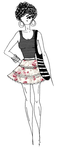 How to wear your skirt in innovative
