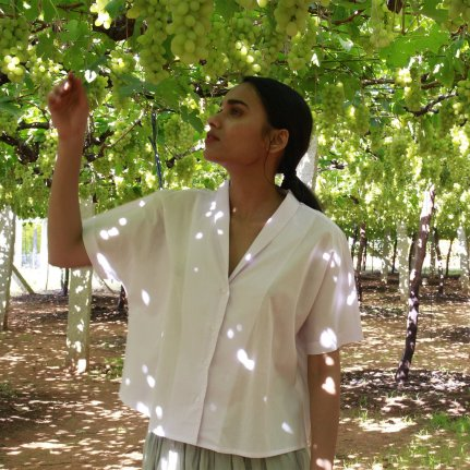 A box shirt in a subdued lilac hue and wispy organic cotton by The Summer House | Chai High is an Indian Fashion Blog started by Shivani Krishan