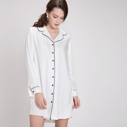White Nightshirt by The Label Life | Chai High is an Indian Fashion Blog started by Shivani Krishan