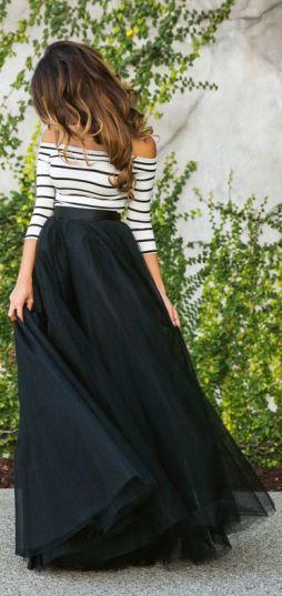 Feminine Tulle Skirt | Chai High is an Indian Fashion Blog started by Shivani Krishan