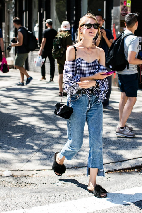 eb00d1391e45 New York Fashion Week Street Style | Photos by Sandra Semburg | Chai High  is an